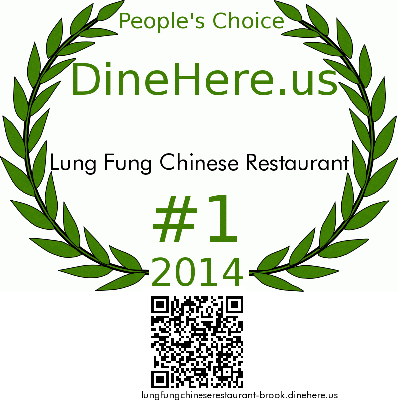 Lung Fung Chinese Restaurant DineHere.us 2014 Award Winner