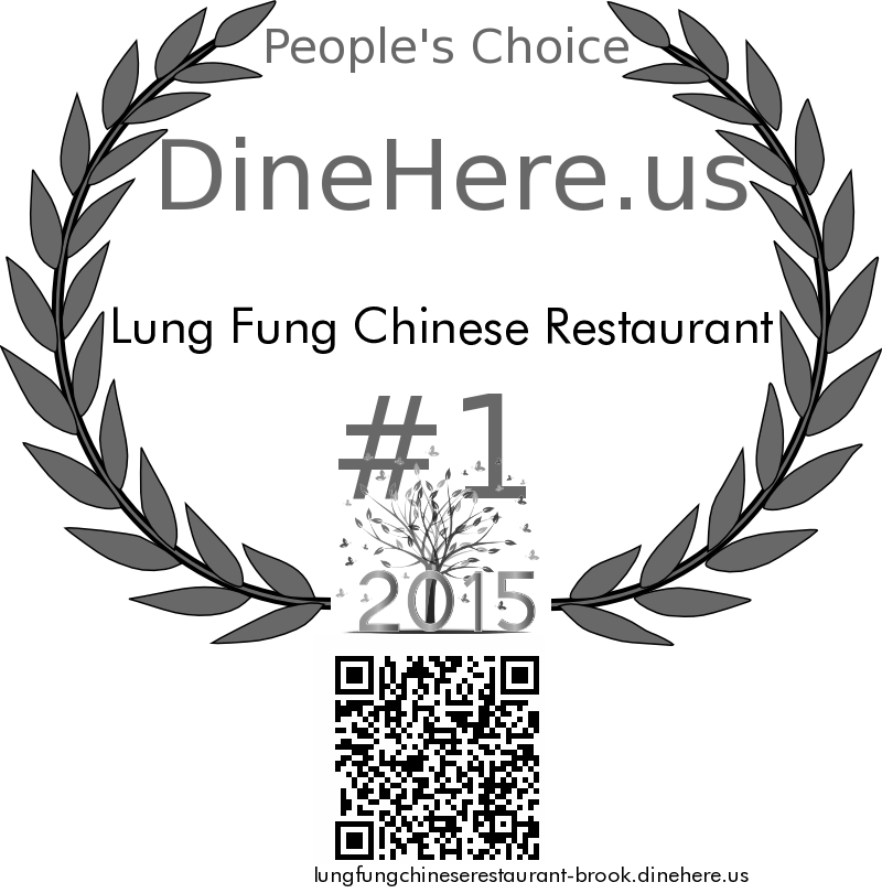 Lung Fung Chinese Restaurant DineHere.us 2015 Award Winner